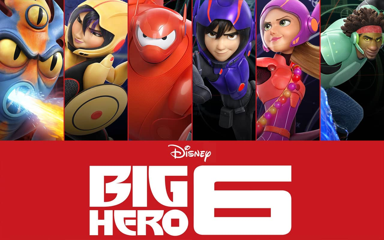 Big Hero Six (2014)