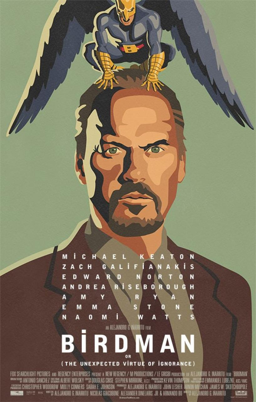 Birdman (2014) - cronică de A.S.