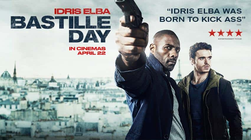 The Take (aka. Bastille Day) (2016)