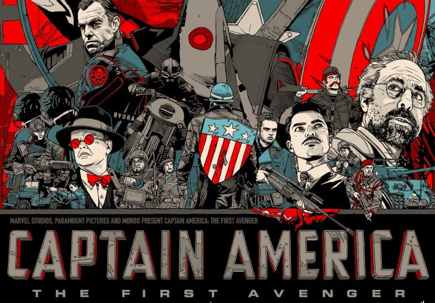 captain america the first avenger swesub
