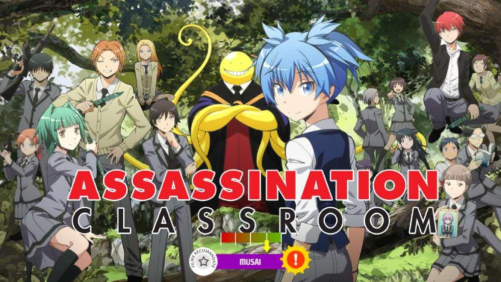 Assassination Classroom (aka. Ansatsu Kyoushitsu) (2015-2016)
