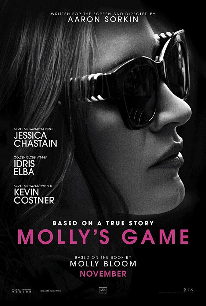Molly's Game (2017) - cronică de A.S.