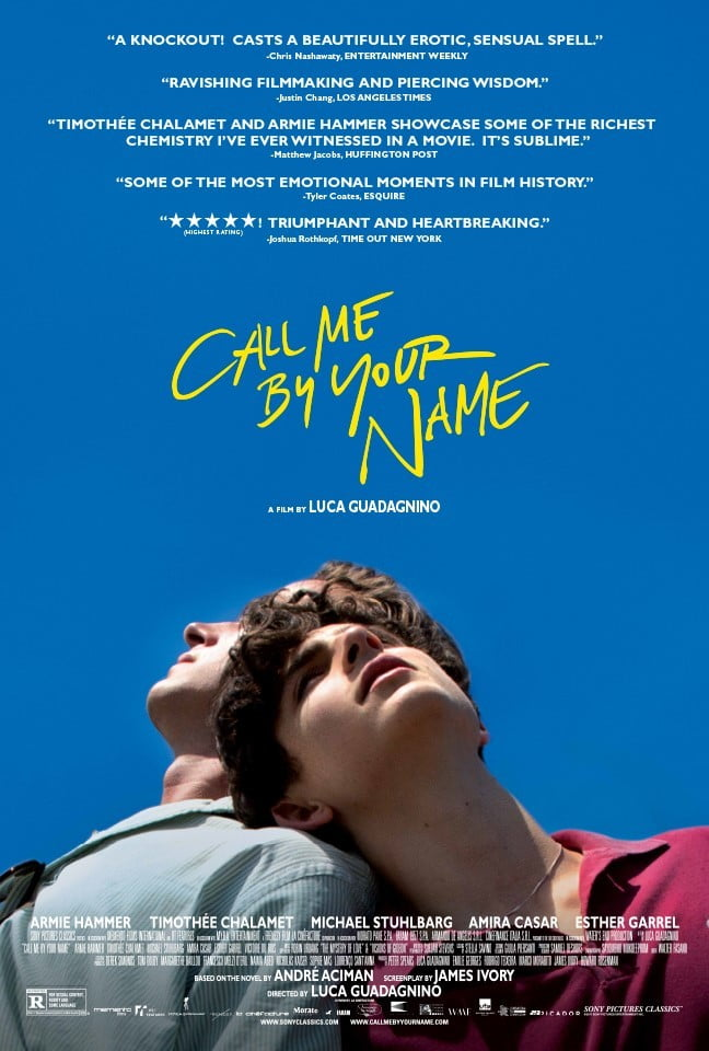 Call Me by Your Name (2017) - cronică de F.F.