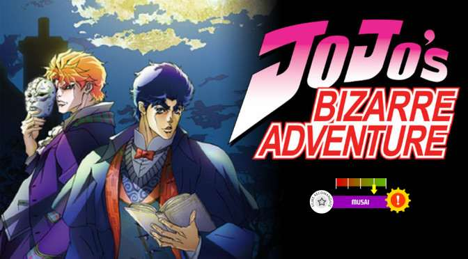 JoJo's Bizarre Adventure (aka JoJo no Kimyou na Bouken) (2012-2013)