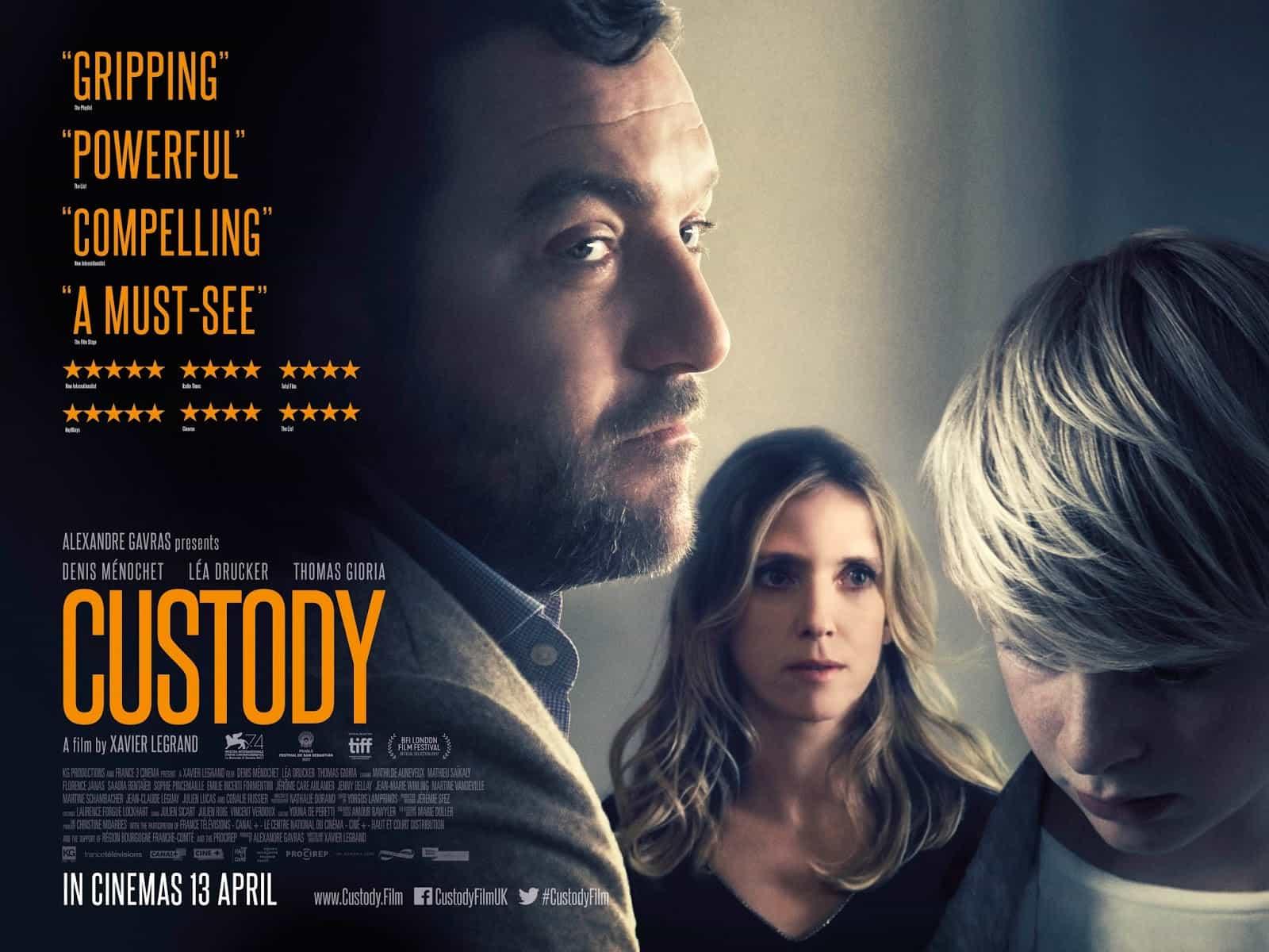 Custody (aka. Jusqu'à la garde) (2017) - by F.F.