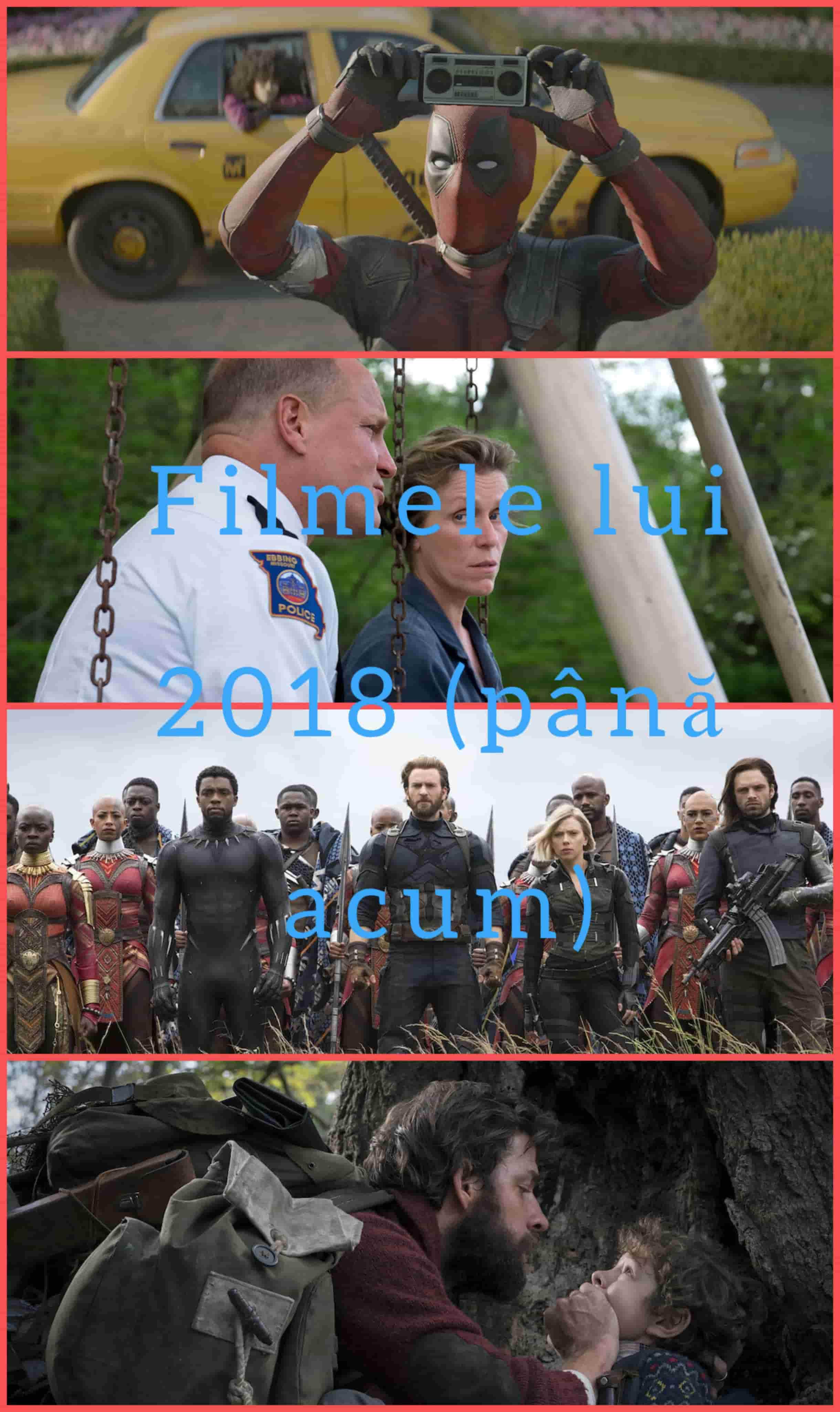 Filmele lui 2018 (până acum)