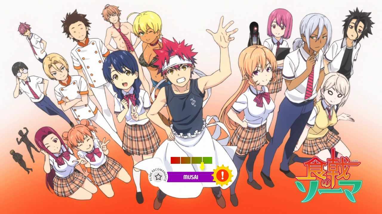 Food Wars! (aka. Shokugeki no Soma) (2015-2018)