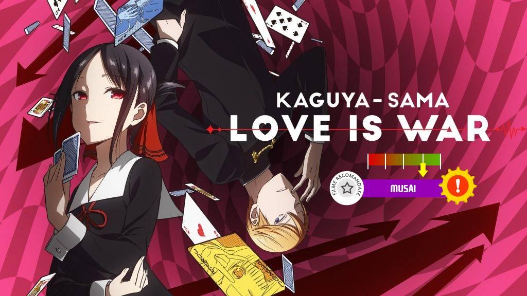 Kaguya-sama: Love is War (aka. Kaguya-sama wa Kokurasetai) (2019- )