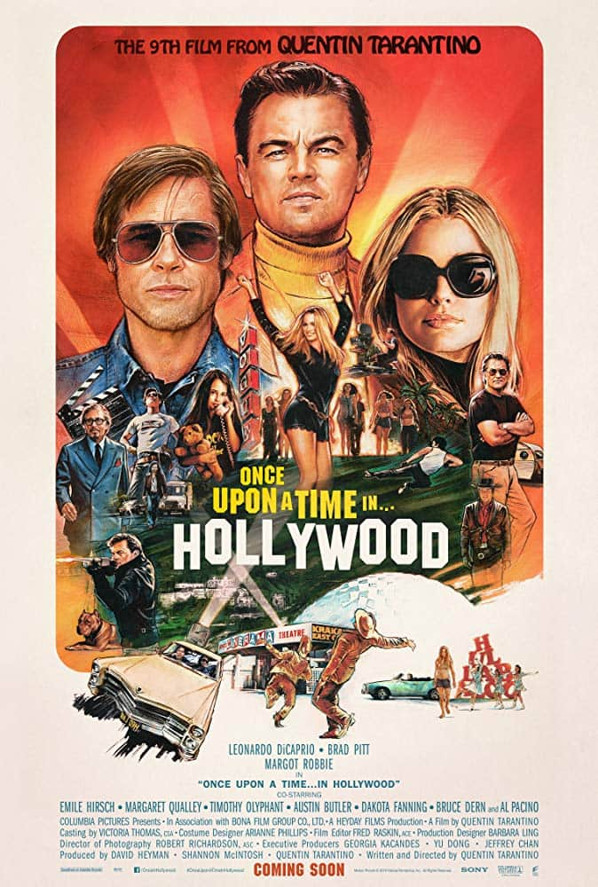 Once Upon a Time ... in Hollywood (2019) - cronică de A.S.