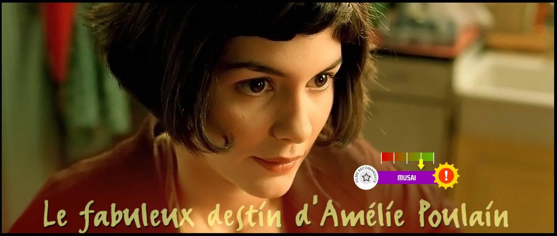 Amélie (aka. Le fabuleux destin d'Amélie Poulain) (2001)