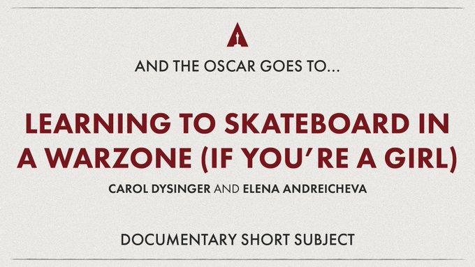Best Documentary Short Subject