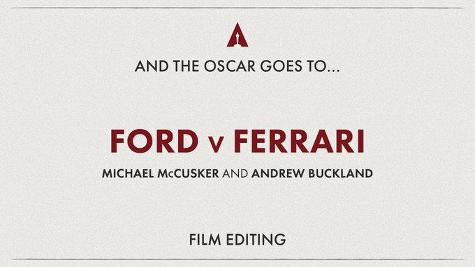 Best Film Editing
