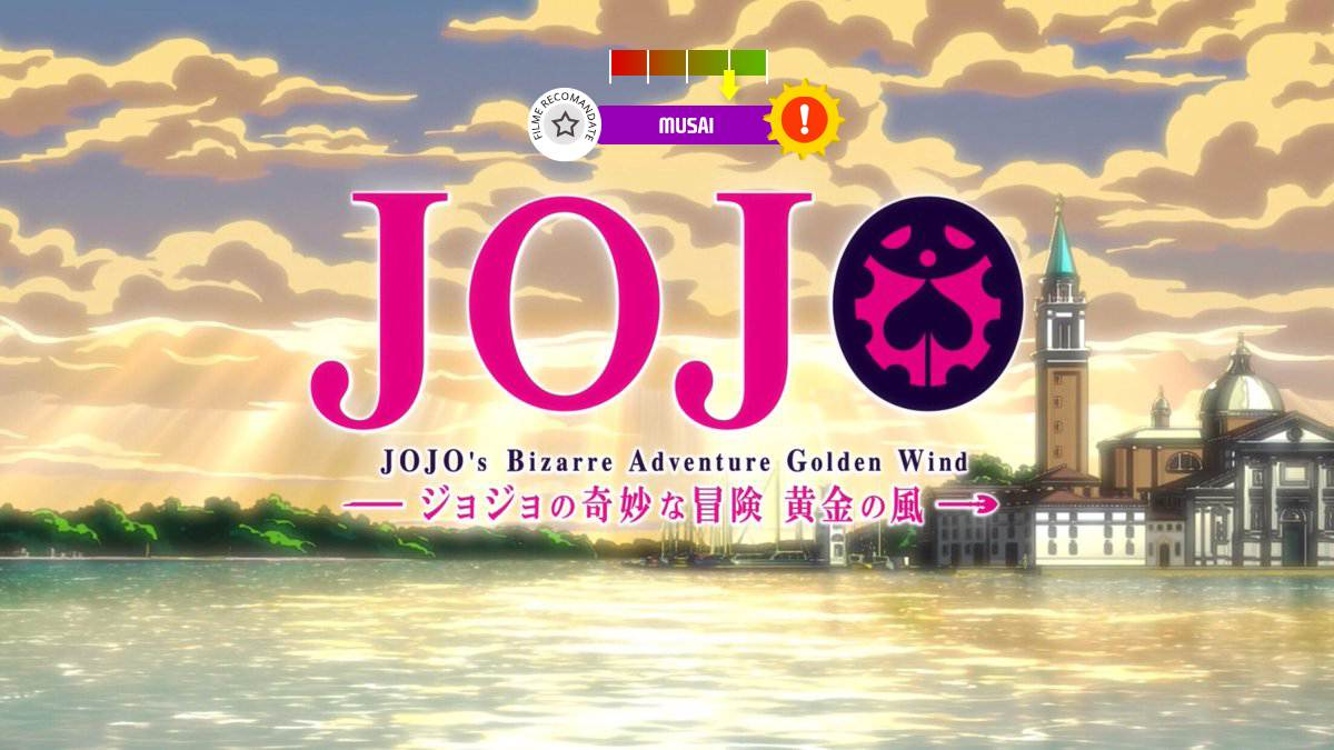 JoJo`s Bizarre Adventure: Golden Wind (aka. JoJo no Kimyou na Bouken Part 5: Ougon no Kaze) (2018-2019)