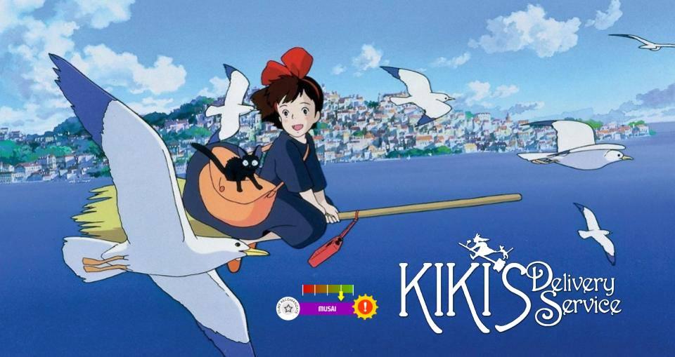 Kiki's Delivery Service (aka. Majo no Takkyuubin) (1989)