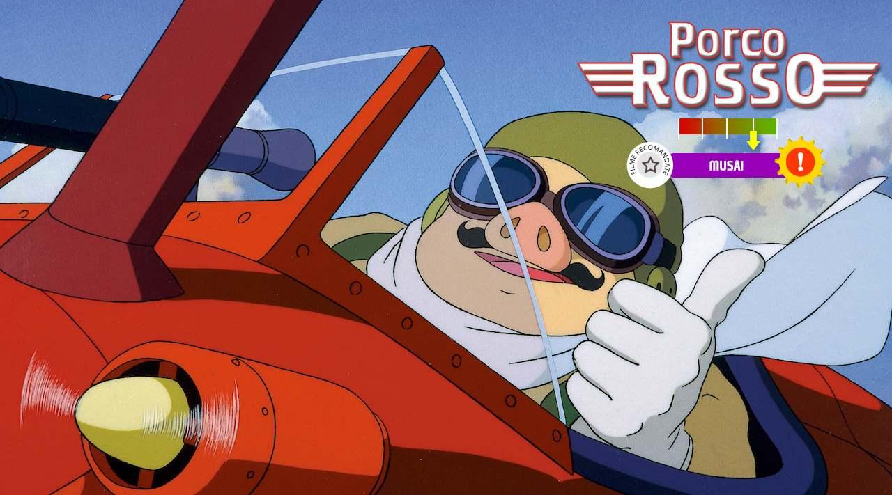 Porco Rosso (aka. Kurenai no buta) (1992)