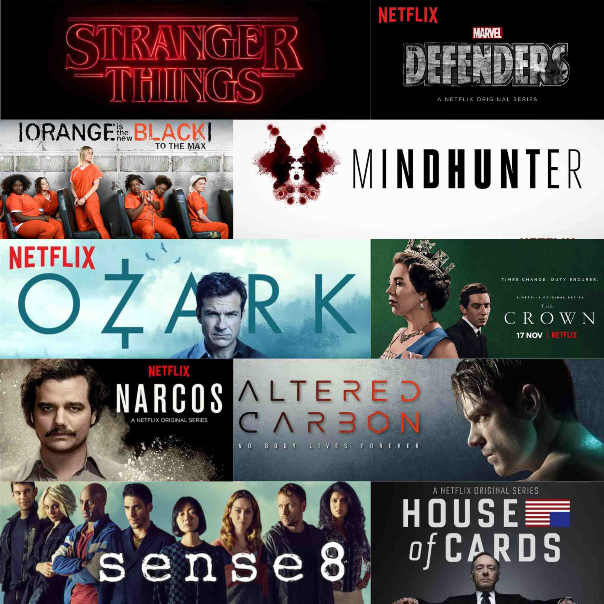 Top 15 seriale originale Netflix: partea 1 - dramă