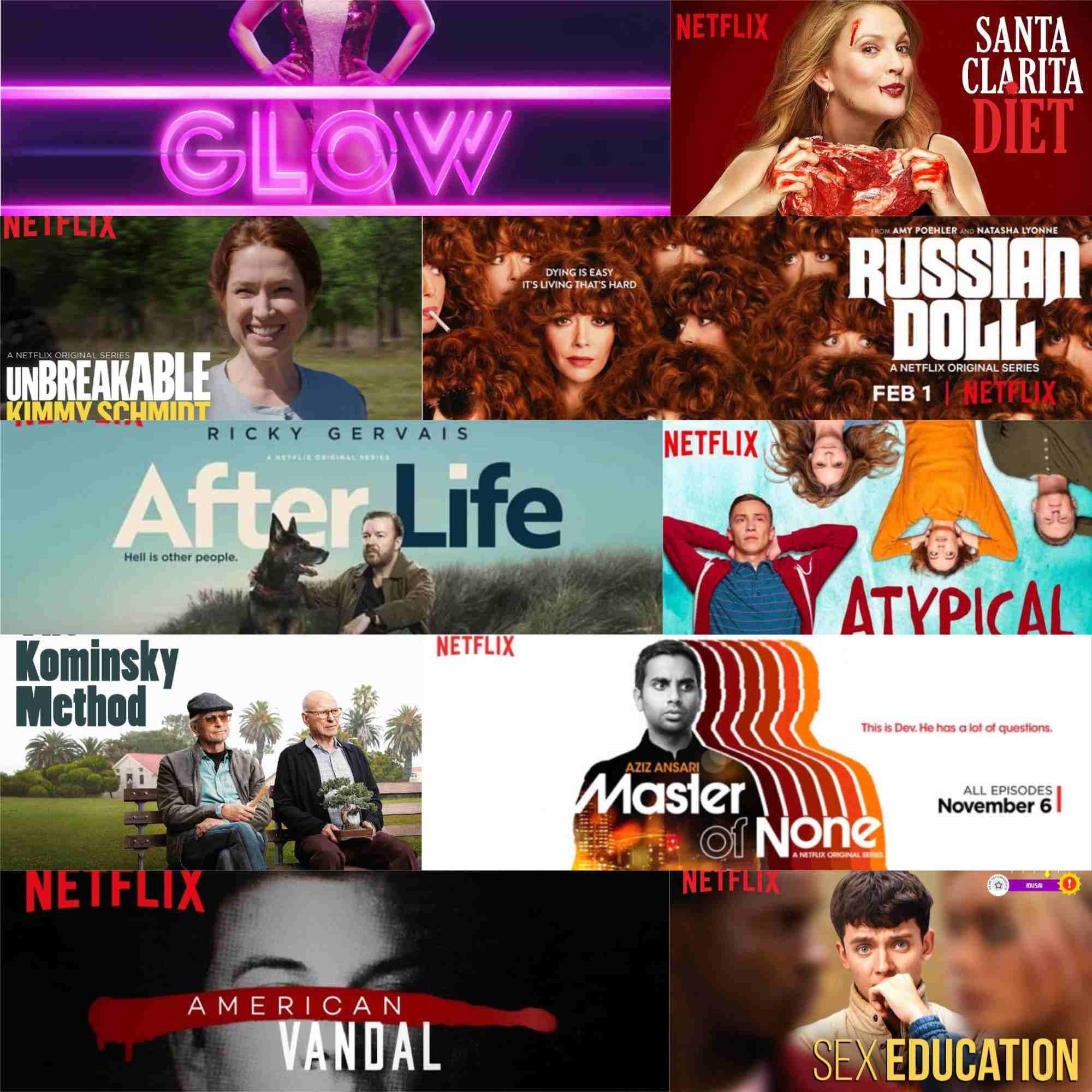 Top 10 seriale originale Netflix: partea 2 - comedie