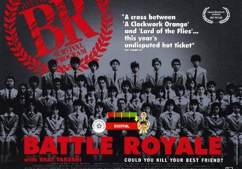 Battle Royale (aka. Batoru rowaiaru) (2000)