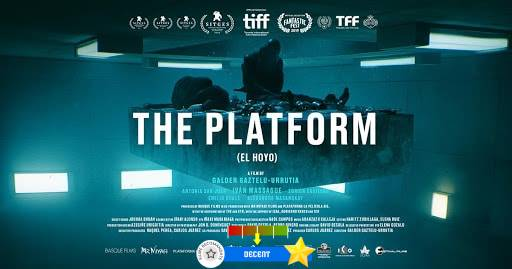 The Platform (aka. El hoyo) (2019)