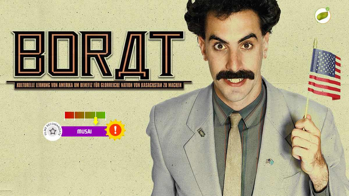 Borat Cultural Learnings of America for Make Benefit Glorious Nation of Kazakhstan (2006)